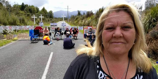 Sonya Rockhouse lost family members in the mine. Photo / Supplied