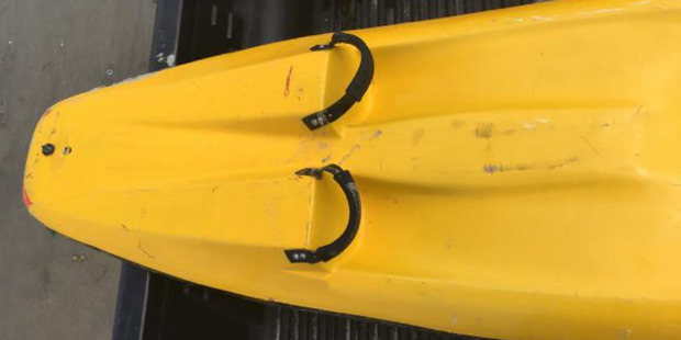 Tauranga Police seek the owner of this wave ski. Photo / Supplied