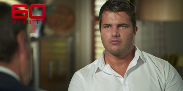 Loading Gable Tostee in an exclusive interview on 60 Minutes screened on Australian television. Photo / Supplied