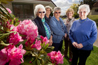 Inner Wheel Club of Rotorua committee members (from left) Joan Lawry, Ann Iles, Laurie Breadmore, Prue Hall and Faye Stamp, have given generously to the Rotorua Salvation Army Christmas Appeal.