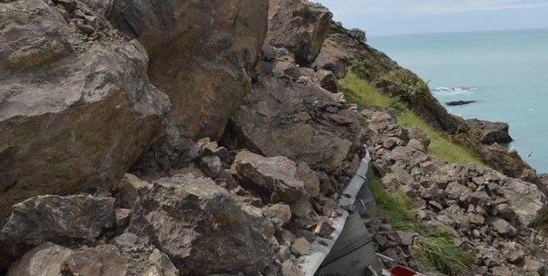 State Highway One near Kaikoura. Photo/Lou Gordon Green