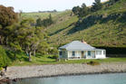Little Pigeon Bay cottage on Banks Peninsula. Photo / Supplied