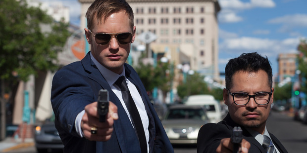 Loading Alexander Skarsgard stars in the War on Everyone. SUpplied to TimeOut