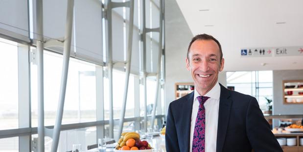 Qantas head of international and freight Gareth Evans.