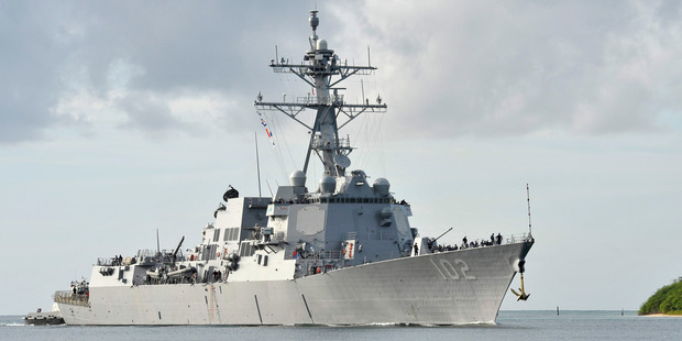 The diversion of the USS Sampson from its Hauraki Gulf course to the chilly waters off Kaikoura was a frustrating act beyond anyone's predictions.