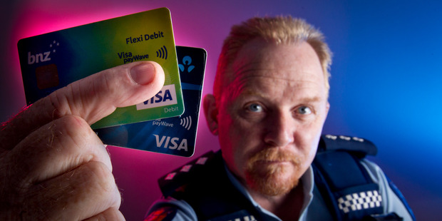 Loading CRIME WAVE: Rotorua police area prevention manager Inspector Stuart Nightingale says Visa payWave cards are causing a spike in crime. PHOTO/STEPHEN PARKER