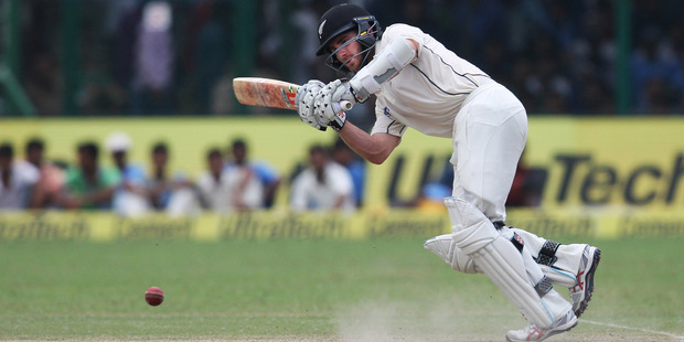 Kane Williamson makes watching test cricket easy, though the same can't be said for all his teammates. Photo / AP