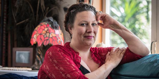 Loading Simonne Butler at her Auckland home. Photo / Greg Bowker