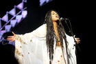 Aaradhna performs her hit Brown Girl at the VNZMAs at Vector Arena. Photo / Norrie Montgomery.