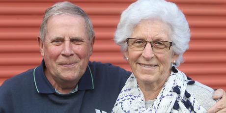 John Dinneen, 69, and his wife Judi, 68, of Papamoa. Photo/John Borren
