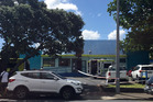 Ambulances outside Angels Childcare Centre on Anzac St in Takapuna. Photo / Moana Tapaleao