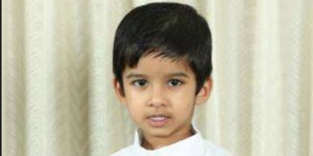 Loading 4 year old Aldrich Viju died in an accident at the Angels Childcare Centre. Photo / Facebook