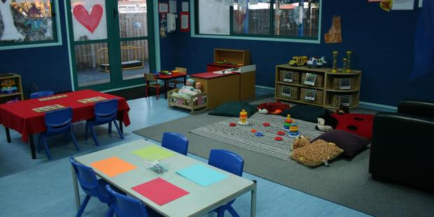 Interior view of the toddlers room at Angels Childcare Centre in Takapuna. Photo / via Facebook