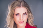 Kiwi actress Jessie Lawrence, who is playing the part of Victoria in the upcoming television drama.