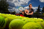 Talented Nick Beamish, 14,  has his sights firmly set on the professional world of tennis. PHOTO/ STEPHEN PARKER.