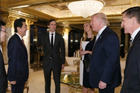 The pictures show how close Ivanka Trump is to the President-elect's political business, raising questions about their business interests. Photo / Supplied via Japanese Prime Minister's Office