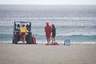 A person has died following an incident in the water at Mt Maunganui this morning. PHOTO/ANDREW WARNER