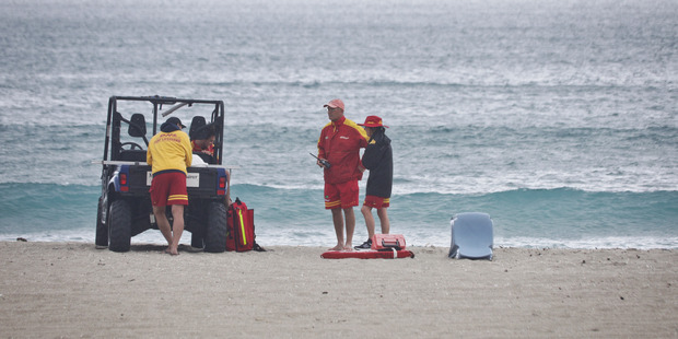 Loading A person has died following an incident in the water at Mt Maunganui this morning. PHOTO/ANDREW WARNER
