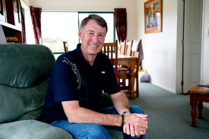 Papamoa policeman Reece Hood is in remission after treating his prostate cancer with vitamin C. Photo/Ruth Keber