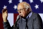 Trump is no Bernie Sanders. Photo / AP