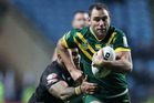 Cameron Smith hopes to continue playing for Australia beyond next year's World Cup. Photo / AP.