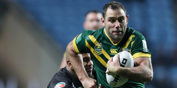 Loading Cameron Smith hopes to continue playing for Australia beyond next year's World Cup. Photo / AP.