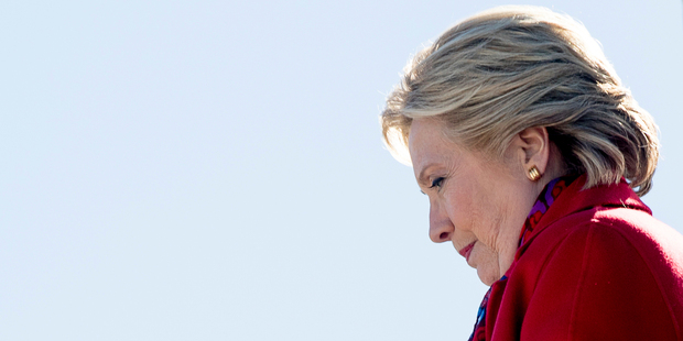 Why did Clinton lose? Photo / AP