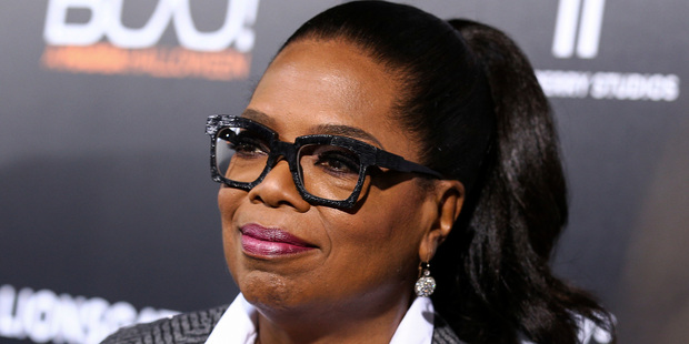 Oprah Winfrey said she was initially in disbelief after she learned Donald Trump was elected president of the United States. Photo / AP