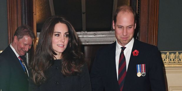 Prince William and Kate. Photo / AP