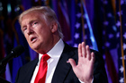 US President-elect Donald Trump. Photo / AP
