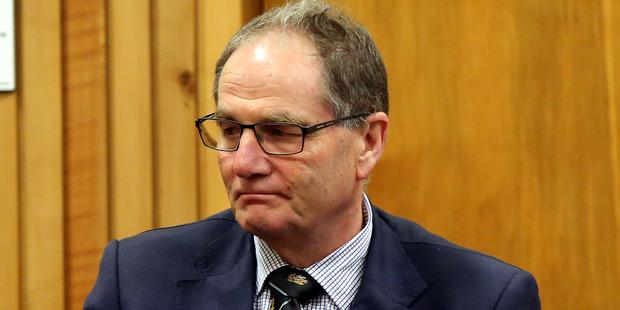 Whanganui MP Chester Borrows appeared in the Whanganui District Court. Photo / Wanganui Chronicle