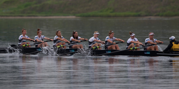 Only one Rio Olympic medallist will be represented in New Zealand's elite rowing ranks next year after the announcement of the summer training squad. Photo / Brett Phibbs.