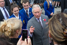 The Prince of Wales visited Wellington last year. Photo / File
