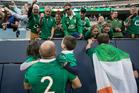 Ireland's captain Rory Best with his children. Photo / Brett Phibbs