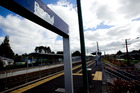 The Ranui train station in west Auckland where an 11-year-old boy was abducted. Photo / Dean Purcell