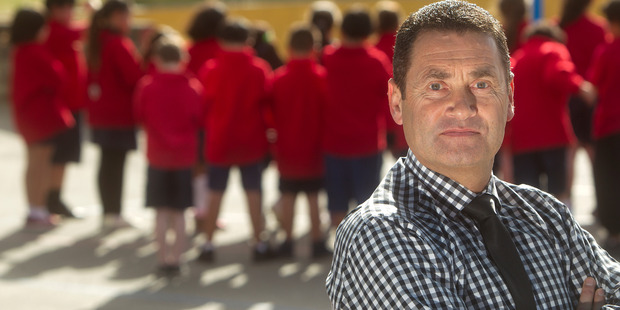 Western Heights Primary School principal Brent Griffin.