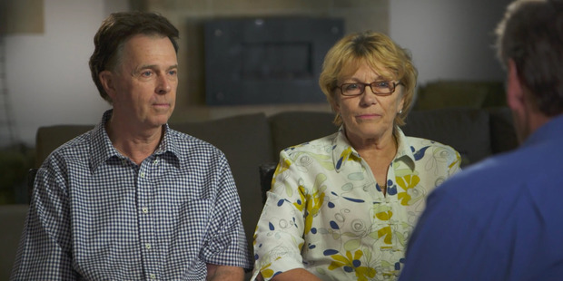 Tostee's parents, Gray and Helene, were also interviewed. Photo: Channel 9 / Supplied