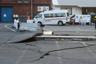 Damage caused by Monday's 7.8 earthquake at CentrePort in Wellington. Photo / File