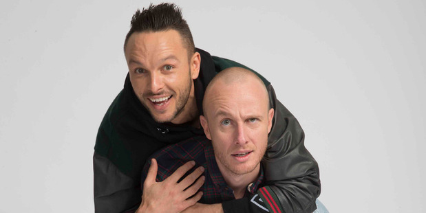 Comedy duo Jono and Ben will host the 2016 VNZMA music awards.