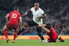 Fiji winger Nemani Nadolo in action against England during the 2015 Rugby World Cup. Photo / Brett Phibbs