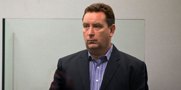 Murray Noone appears in the Auckland High Court. Photo / Jason Oxenham