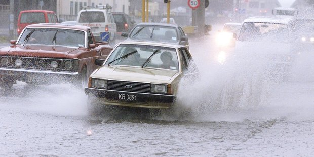 Wellington should brace for more heavy rain. File Photo / Mark Mitchell