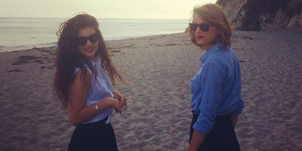 Taylor Swift with her Kiwi BFF Lorde. Photo / Instagram
