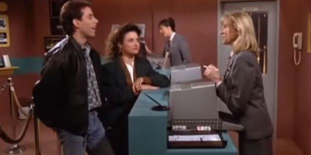 Trying to pick up a car he'd booked months in advance proved a Seinfeldesque experience for Grant Bradley. Photo / File image