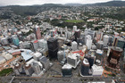 An aerial view of Wellington. Photo / Mark Mitchell
