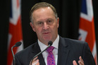 Prime Minister John Key has suggested school exams should be postponed. New Zealand Herald photograph by Mark Mitchell