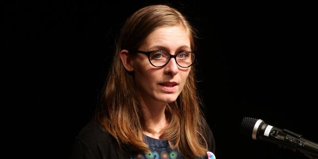Author Eleanor Catton. Photo / Doug Sherring