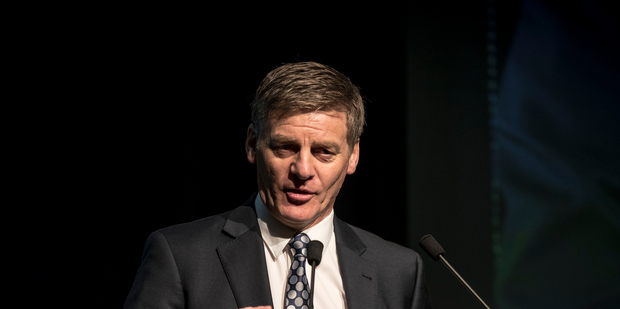 """Bill English says there are unlikely to be """"big windfalls"""" in the next set of Treasury forecasts. Photo/ Michael Craig"""