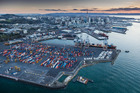 Ports of Auckland and domestic shipping operator Pacifica say demand for goods to earthquake-stricken North Canterbury has doubled since Monday. Photo / File.