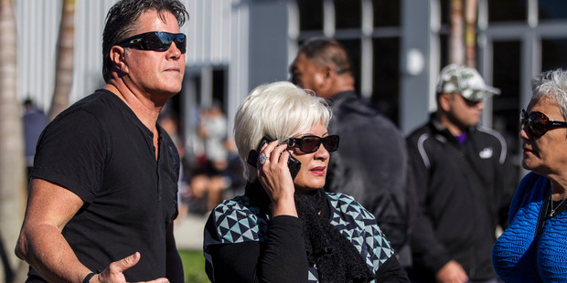 Brian Tamaki, pictured with his wife Hannah, has blamed gays for earthquakes. Photo / Michael Craig